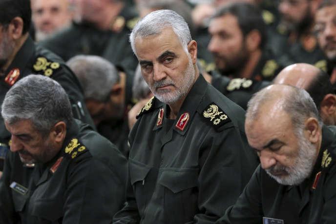 Le général Ghassem Soleimani en septembre 2016 à Téhéran.