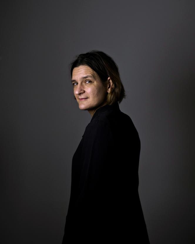 La lauréate du prix Nobel d'économie 2019, Esther Duflo, à Paris, le 16 décembre 2019.