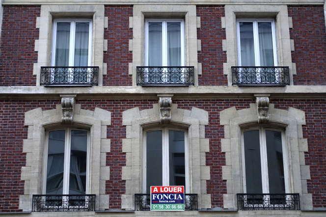 Façade d'un immeuble parisien.