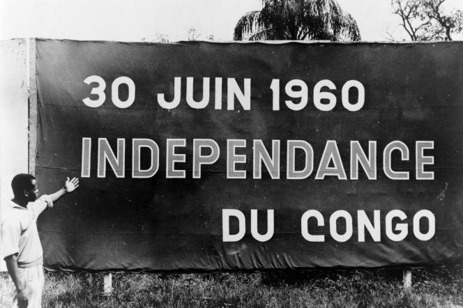 Les réalisateurs s'intéressent aux mouvements d'indépendance dans différents pays asiatiques et africains, comme ici au Congo belge en juin 1960.