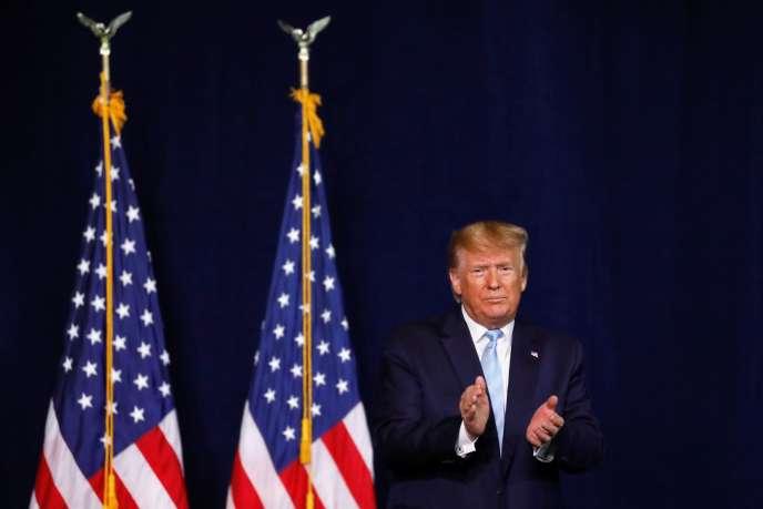Le président américain, Donald Trump, à Miami, le 3 janvier.