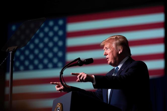Le président américain Donald Trump à Miami, en Floride, le 3janvier.