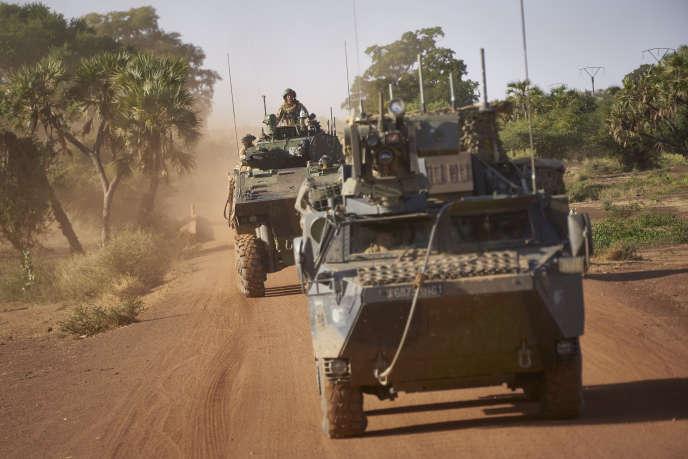 Le 14 novembre 2019, lors d'une patrouille militaire dans le nord du Burkina Faso.