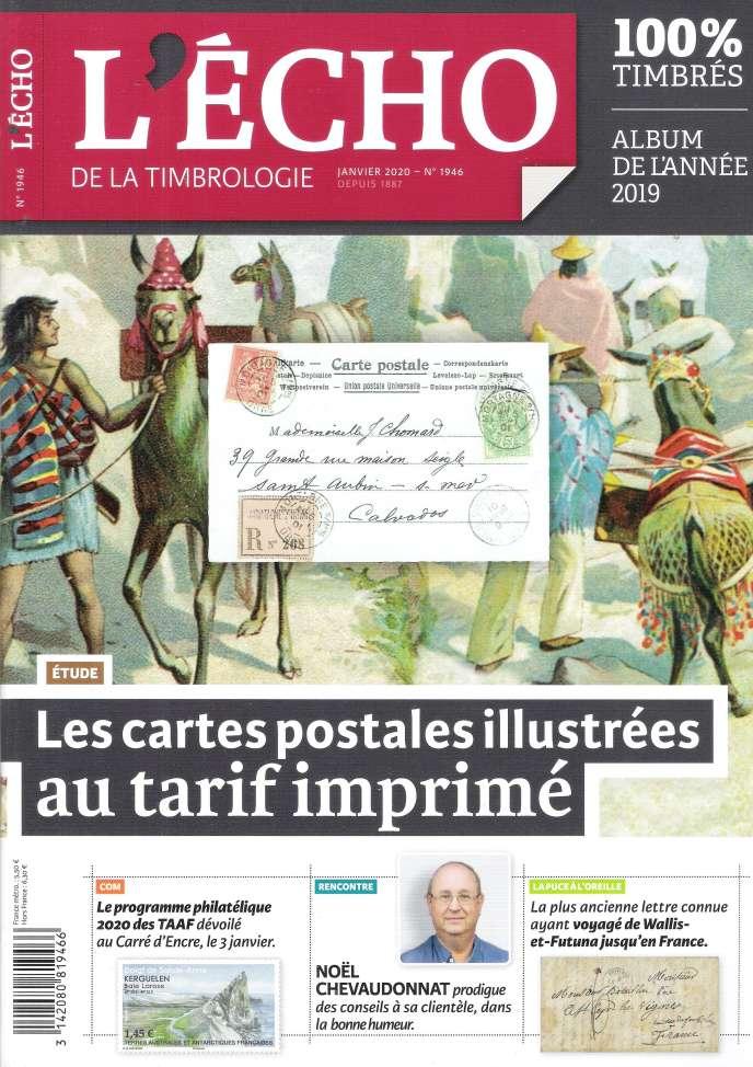 « L'Echo de la timbrologie », 92 pages, 5,50 euros. En vente par correspondance ou par abonnement auprès de l'éditeur, Yvert et Tellier.