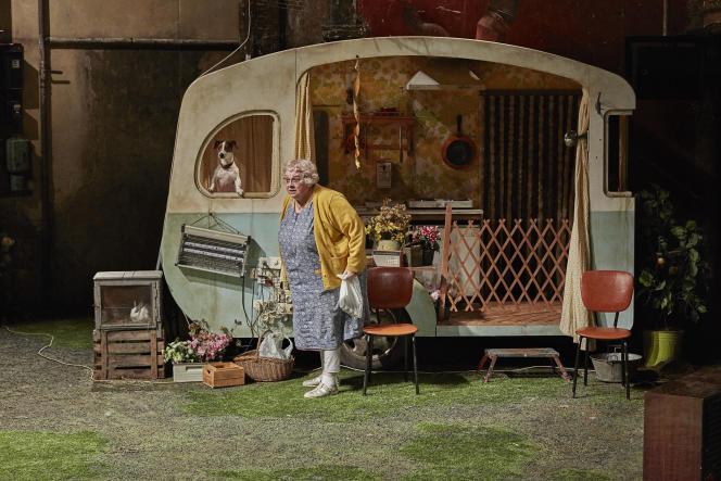 «La Mouche», de George Langelaan, adapté et mis en scène par Christian Hecq et Valérie Lesort.