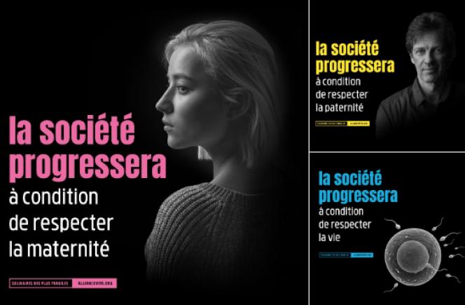 La campagne de l'association anti-avortement Alliance Vita est au cœur d'une bataille judiciaire avec la Ville de Paris et la régie Mediatransports.