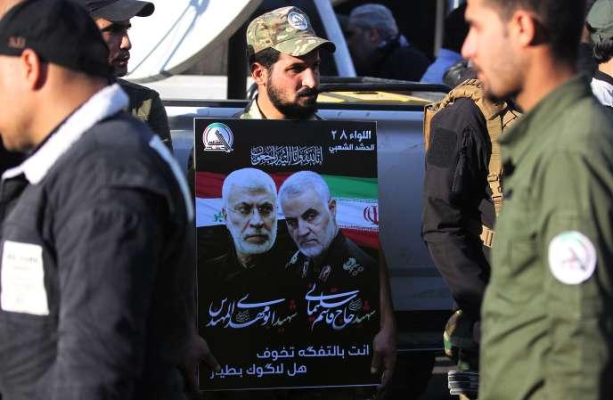 A Bagdad, le 6 janvier.