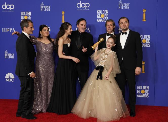 Quentin Tarantinoa reçu deux récompenses : celle du meilleur film et celle du meilleur scénario pour« Once upon a time... in Hollywood».