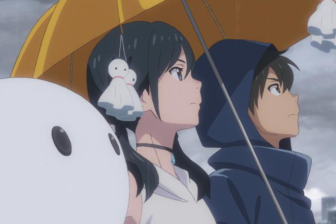 Hina et Hodaka, les deux jeunes héros du cinquième long-métrage d'animation de Makoto Shinkai.