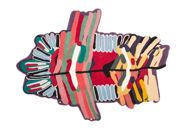 Le tapis Tufty Junior par Laureline Galliot, chez Nodus.