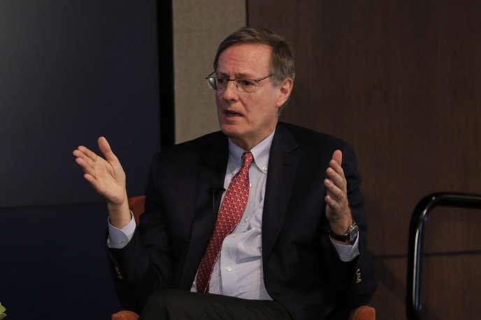 Peter Weinberg, responsable du conseil chez Perella Weinberg Partners, à New York, en janvier 2017.