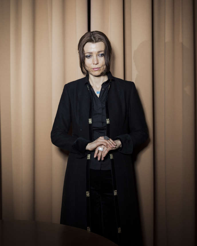 L'écrivaine turque Elif Shafak, en 2017.