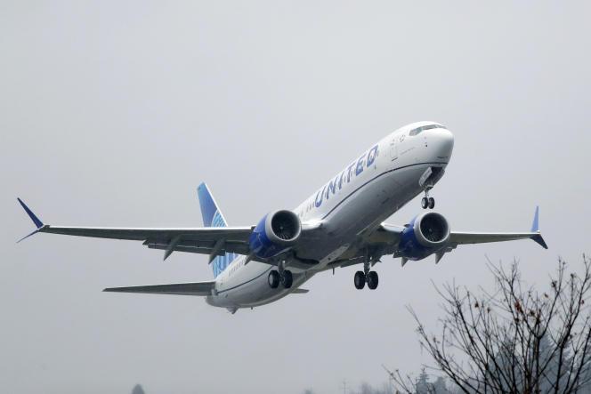 Un Boeing 737 Max sur le tarmac de Renton, dans l'Etat de Washington, en décembre.