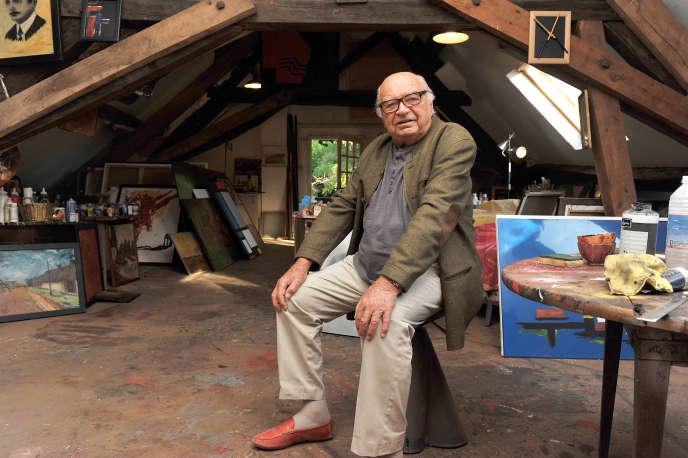Jacques Dessange, ici en octobre2011 à Pierrefitte-sur-Sauldre (Loir-et-Cher).