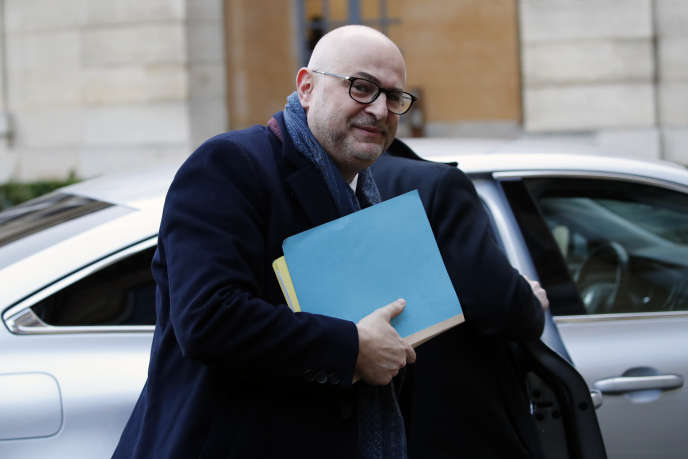 Le secrétaire d'Etat chargé des retraites, Laurent Pietraszewski, à Paris, le 7 janvier.