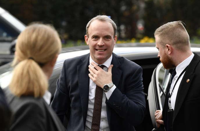 Le ministre des affaires étrangères britannique, Dominic Raab, le 7 janvier.