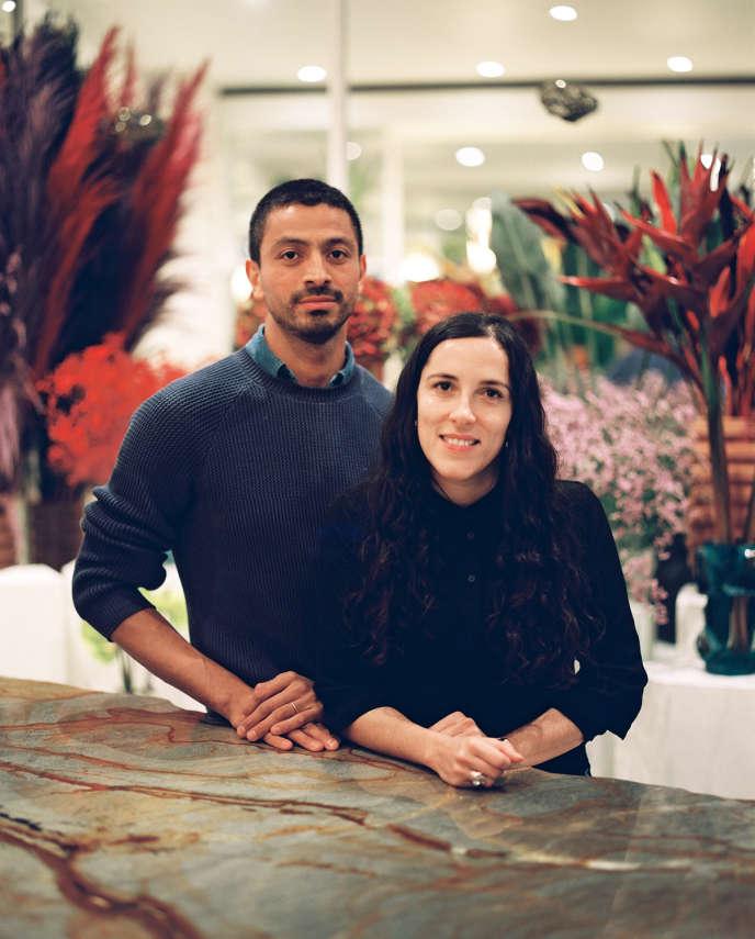 Arturo Arita et l'architecte Sophie Dries.
