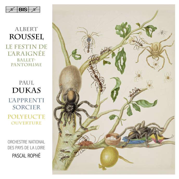 Pochette de l'album« Roussel– Dukas», par l'Orchestre national des Pays de la Loire, Pascal Rophé (direction).