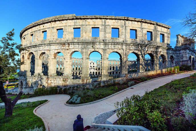 L'amphithéâtre de Pula.