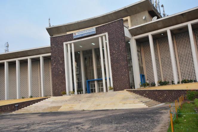 L'Université de Kinshasa, en janvier 2015.