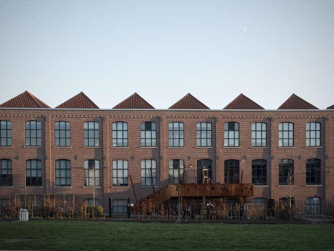 Les studios d'Ankama, créés par Anthony Roux, à Roubaix, en décembre 2019. Il s'agit d'une ancienne usine textile (l'usine Vanoutryve).