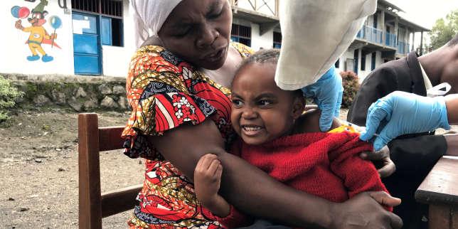 En RDC, «la pire épidémie de rougeole au monde» a fait plus de 6000morts en un an