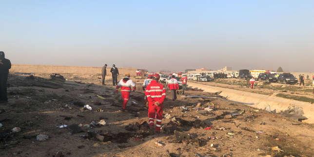 Crash près de Téhéran: l'armée iranienne reconnaît avoir abattu l'avion ukrainien par «erreur»