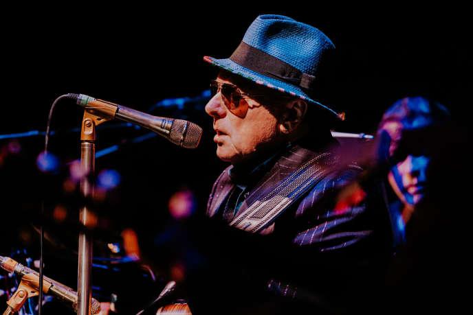 Le chanteur-auteur-compositeur irlandais Van Morrison sera en concert à l'Olympia à Paris, le 10 mars.