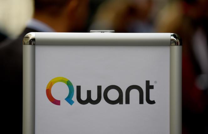 En juin 2018, au siège de Qwant, à Paris.