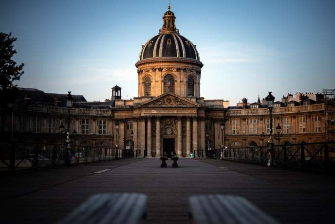 L'Académie française à Paris, en juillet 2019.