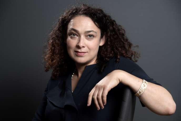 La rabbin Delphine Horvilleur, à Troyes, le 17 juin 2019.