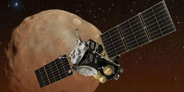 Les Japonais visent Phobos, dans l'orbite de Mars