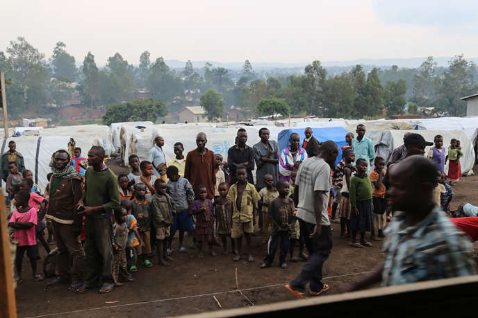 Des réfugiés fuient les violences ethniques dans la province d'Ituri, en République démocratique du Congo, le 21 juin 2019.