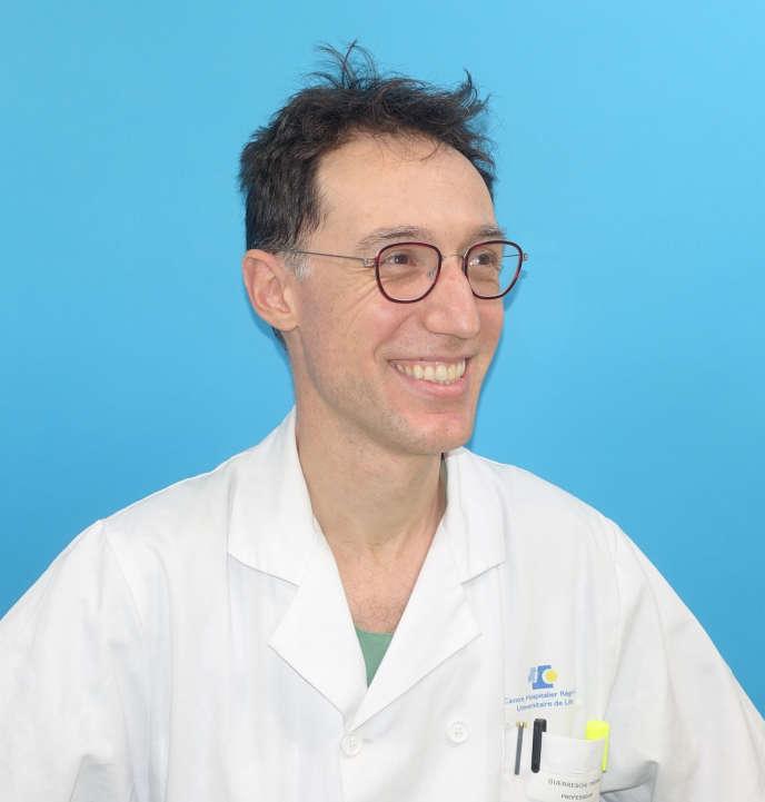 Le professeur Pierre Guerreschi, en 2019.