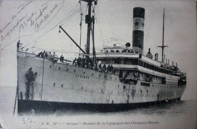 Carte postale publiée vers 1910 par Jacques André Boucher (1877-1933), photographe et éditeur. Collection personnelle.