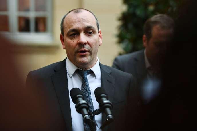 Le secrétaire général de la CFDT, Laurent Berger, le 10 janvier à Paris.