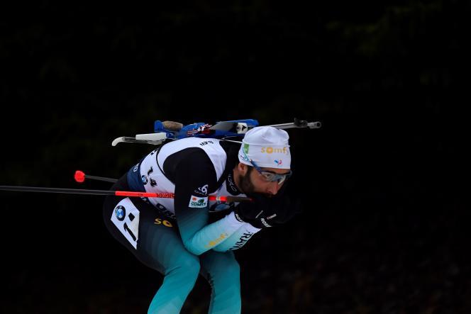 Martin Fourcade a signé, à Oberhof, sa deuxième victoire depuis le début de cette saison: il s'était imposé dans l'épreuve individuelle à Östersund (Suède).