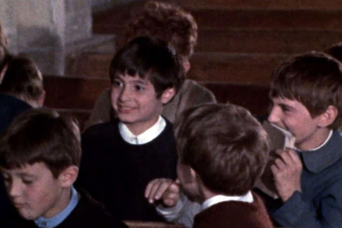 Hervé, interprété par Hervé Lévy, dans«La Maison des bois», de Maurice Pialat.