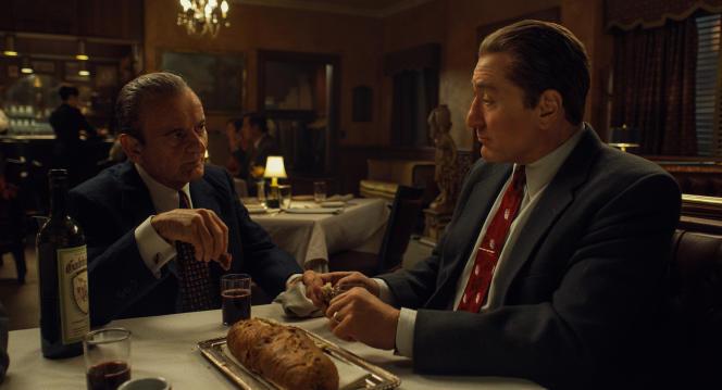 Scène issue de «The Irishman», de Martin Scorsese.