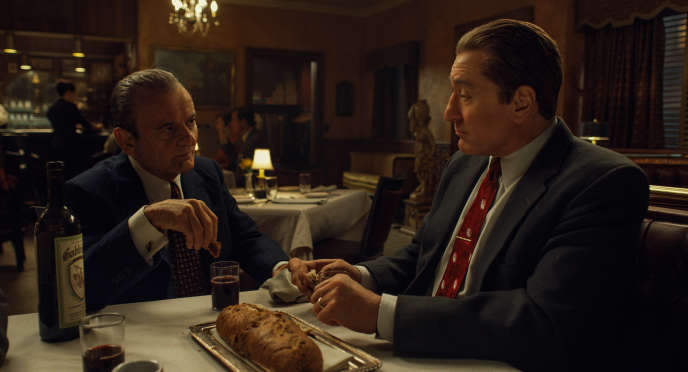 Scène issue de « The Irishman », de Martin Scorsese.