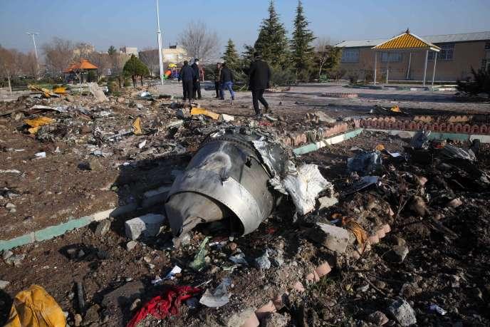 L'armée iranienne a reconnu avoir touché par erreur le Boeing 737, qui s'est écrasé près de Téhéran peu après son décollage, le 8 janvier.
