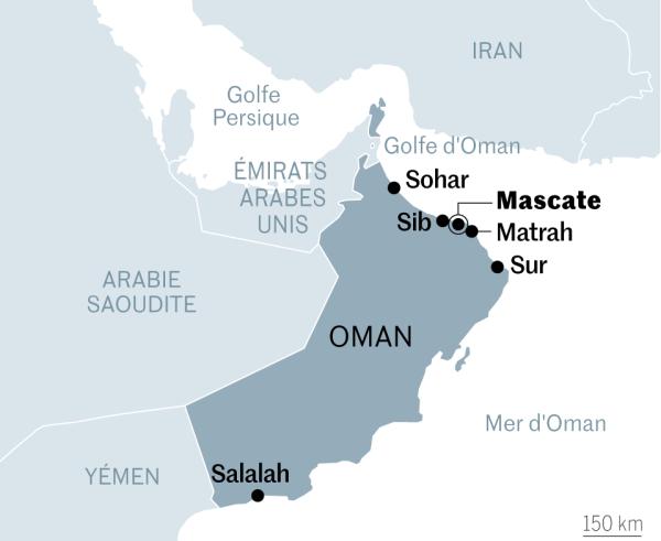 Le sultanat d'Oman.