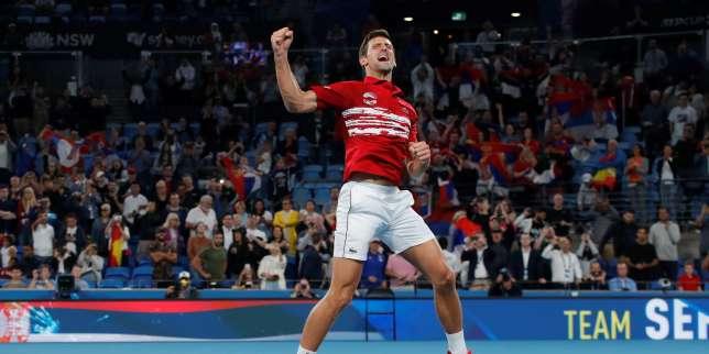 Tennis: la Serbie de Novak Djokovic remporte la nouvelle ATP Cup au détriment de l'Espagne