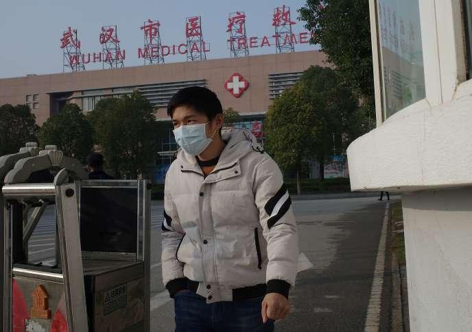 A Wuhan, au centre de la Chine, où la totalité des cas chinois de ce mystérieux virus ont été signalés depuis le mois dernier.