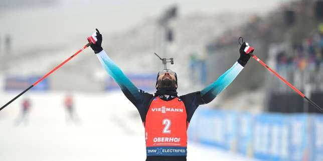 Biathlon: le retour du roi Fourcade, en l'absence de l'empereur Boe