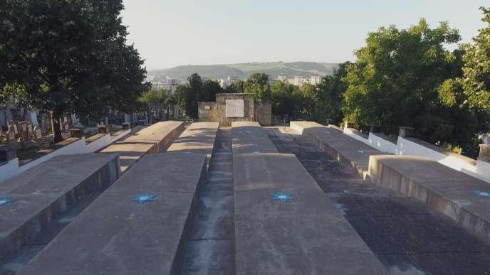Le cimetière juif de Lasi, en Roumanie.