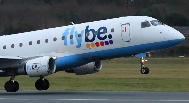 La compagnie Flybe avait déjà échappé à la faillite en2019.
