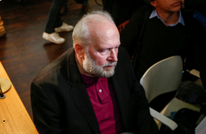 Bernard Preynat au tribunal correctionnel de Lyon, le 13 janvier 2020.
