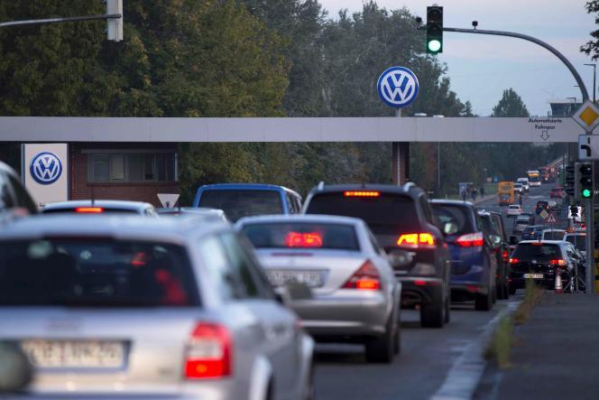 A Wolfsburg, en Allemagne, la ville de Volkswagen.