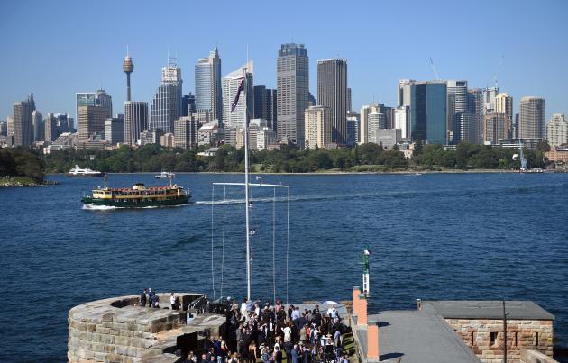 La skyline de Sydney, en novembre 2015.